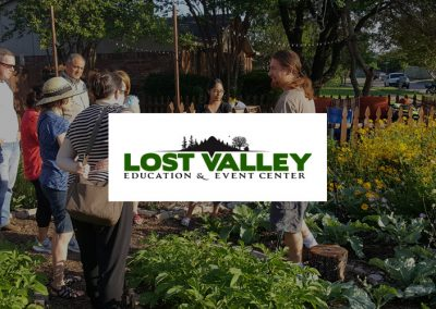 Lost Valley Education Center – the practical application of sustainable living skills