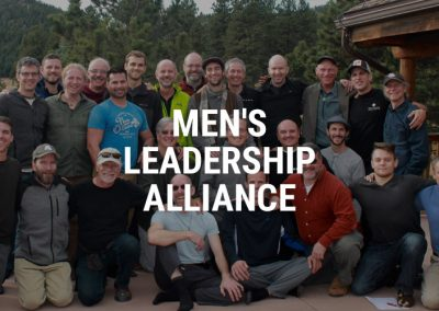 Men's Leadership Alliance – Men's Work